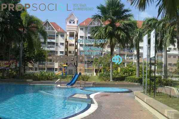 For Sale Apartment at Taman Bayu Perdana, Klang Freehold Semi Furnished 3R/2B 280k