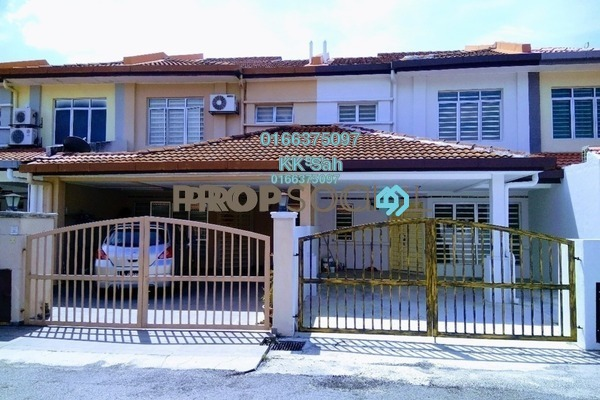 For Sale Terrace at Section 1, Bandar Mahkota Cheras Freehold Semi Furnished 4R/3B 528k