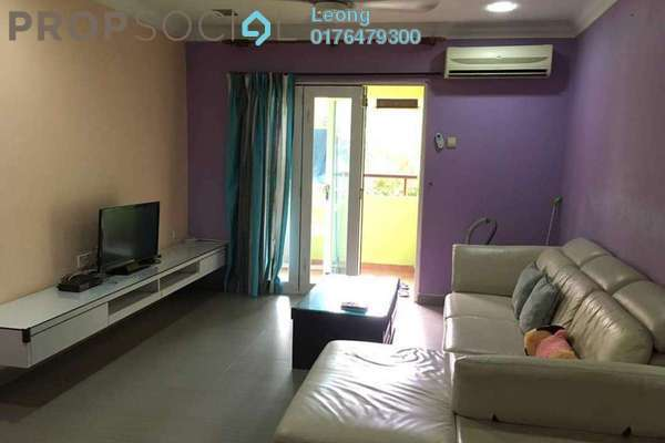 For Rent Condominium at Paradesa Tropika, Bandar Sri Damansara Freehold Fully Furnished 3R/2B 1.6Ribu