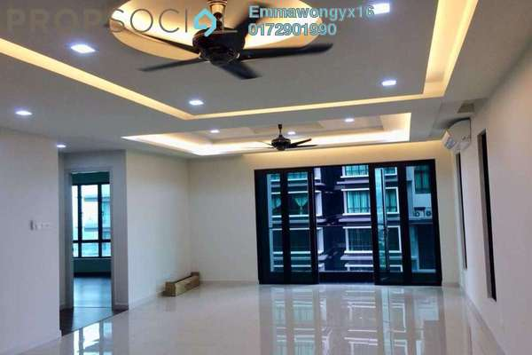 For Rent Condominium at The Reach @ Titiwangsa, Setapak Freehold Semi Furnished 3R/3B 2.5k