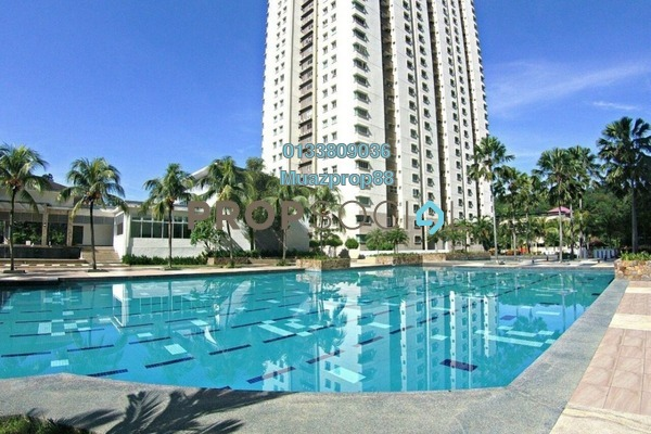 For Sale Condominium at Aman Heights, Seri Kembangan Freehold Semi Furnished 3R/2B 400k