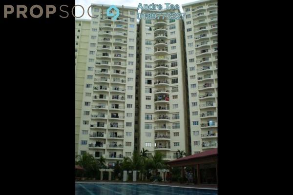 For Rent Condominium at Prima Setapak I, Setapak Freehold Semi Furnished 3R/2B 1.4k