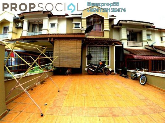 For Sale Terrace at Taman Desa Bukit Cahaya, Cheras South Freehold Semi Furnished 4R/3B 540k