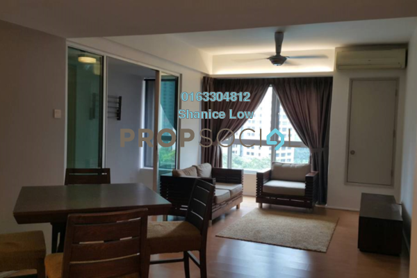 For Sale Condominium at i-Zen Kiara I, Mont Kiara Freehold Semi Furnished 2R/2B 750k