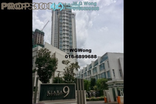 For Rent Condominium at Kiara 9, Mont Kiara Freehold Semi Furnished 3R/3B 4.5k