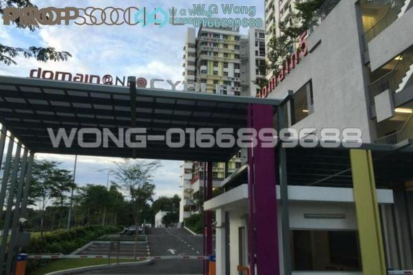 For Sale Serviced Residence at The Domain, Cyberjaya Freehold Fully Furnished 2R/1B 268k