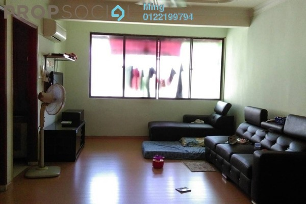 For Sale Apartment at Taman Kuchai Jaya, Kuchai Lama Freehold Semi Furnished 3R/2B 280k