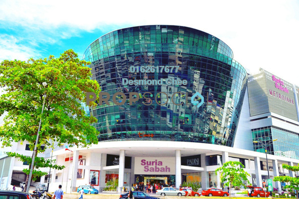 For Rent Office at Suria Sabah, Kota Kinabalu Freehold Fully Furnished 0R/0B 2.3k
