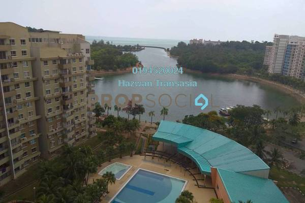 For Sale Condominium at Teluk Kemang, Port Dickson Leasehold Fully Furnished 3R/2B 180k
