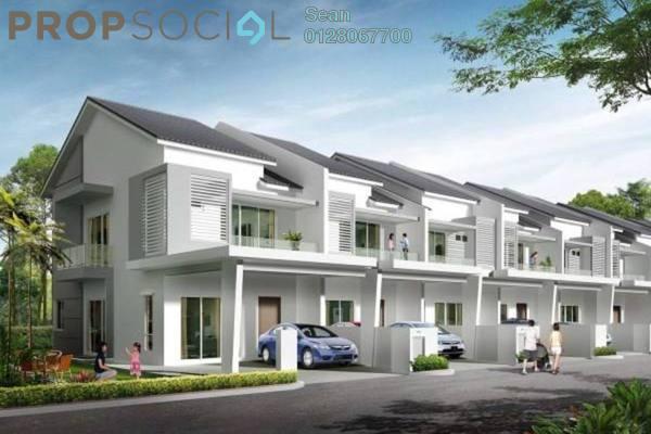 For Sale Terrace at Jentayu, Bandar Enstek Freehold Unfurnished 4R/3B 349k
