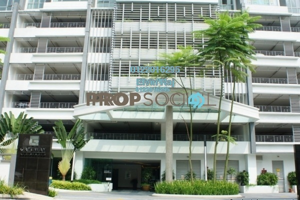For Sale Office at Gateway Kiaramas, Mont Kiara Freehold Semi Furnished 4R/1B 699k