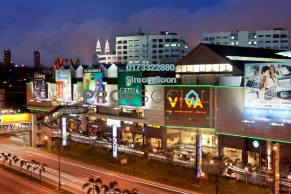 For Rent Office at Viva Home, Cheras Freehold Semi Furnished 0R/2B 1.78k
