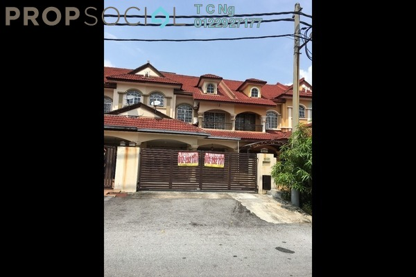 For Rent Terrace at BP10, Bandar Bukit Puchong Freehold Semi Furnished 4R/3B 1.4k