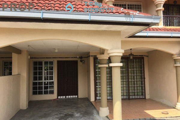 For Rent Terrace at BP10, Bandar Bukit Puchong Freehold Semi Furnished 4R/3B 1.7k