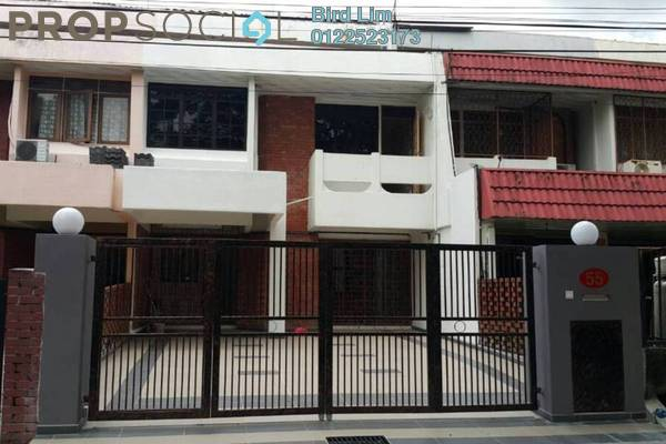 For Sale Terrace at Papillon Desahill, Taman Desa Freehold Semi Furnished 5R/3B 1.13m