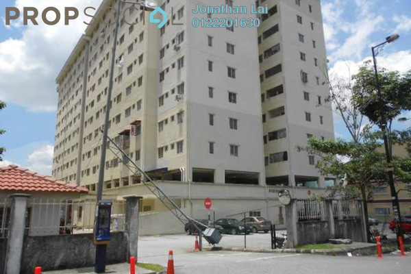 For Rent Apartment at Permai Seri Apartment, Ampang Freehold Unfurnished 2R/2B 1.4k