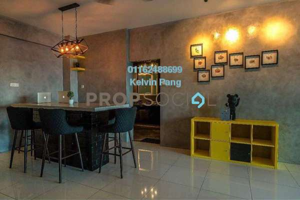 For Sale Condominium at The Latitude, Tanjung Tokong Freehold Fully Furnished 3R/2B 800k