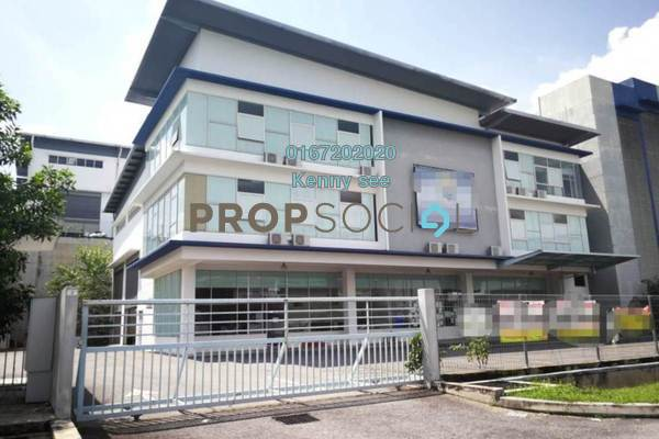 For Rent Factory at Taman Perindustrian Putra Permai, Seri Kembangan Freehold Unfurnished 1R/3B 22k