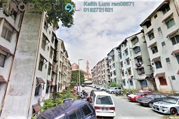 For Rent Apartment at Taman Desa Petaling, Desa Petaling Freehold Unfurnished 2R/1B 750translationmissing:en.pricing.unit