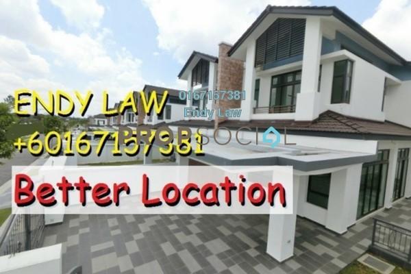 For Sale Semi-Detached at SiLC, Iskandar Puteri (Nusajaya) Freehold Unfurnished 5R/6B 980k