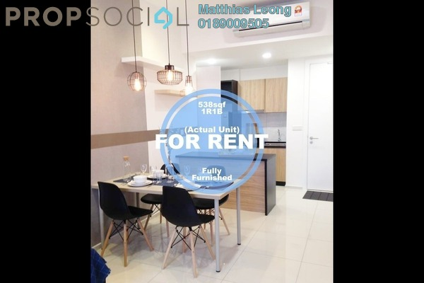 For Rent Serviced Residence at The Robertson, Pudu Freehold Fully Furnished 1R/1B 3.1k