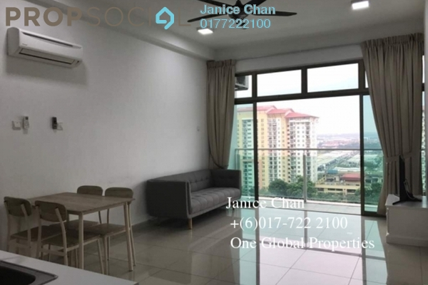 For Rent Serviced Residence at Palazio, Tebrau Freehold Semi Furnished 2R/2B 1.6k