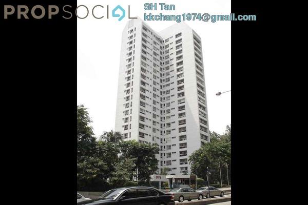 For Rent Condominium at Menara Bangsar, Bangsar Freehold Semi Furnished 4R/3B 2.7k