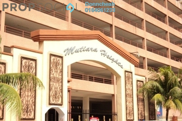 For Rent Condominium at Mutiara Heights, Jelutong Freehold Semi Furnished 3R/2B 750translationmissing:en.pricing.unit