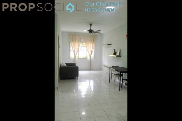 For Sale Apartment at Cemara Apartment, Bandar Sri Permaisuri Freehold Semi Furnished 3R/2B 320k