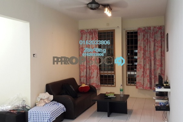 For Rent Condominium at Vista Impiana Apartment, Seri Kembangan Freehold Fully Furnished 3R/2B 1k