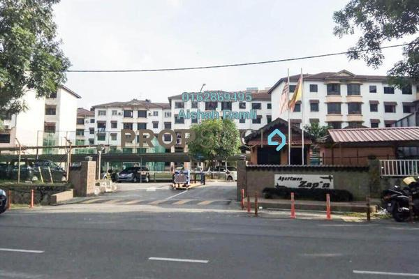 For Sale Apartment at Zapin Apartment, Balakong Freehold Unfurnished 3R/2B 200k