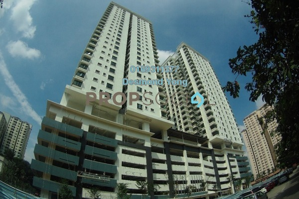 For Rent Condominium at Sentul Rafflesia, Sentul Freehold Fully Furnished 3R/3B 2.4k