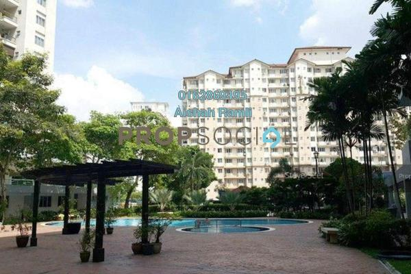 For Sale Condominium at Mentari Condominium, Bandar Sri Permaisuri Freehold Semi Furnished 4R/2B 410k