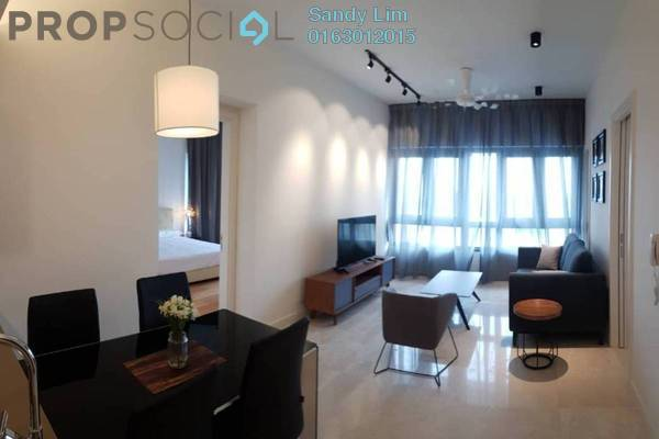 For Rent Condominium at The Sentral Residences, KL Sentral Freehold Fully Furnished 1R/1B 4k