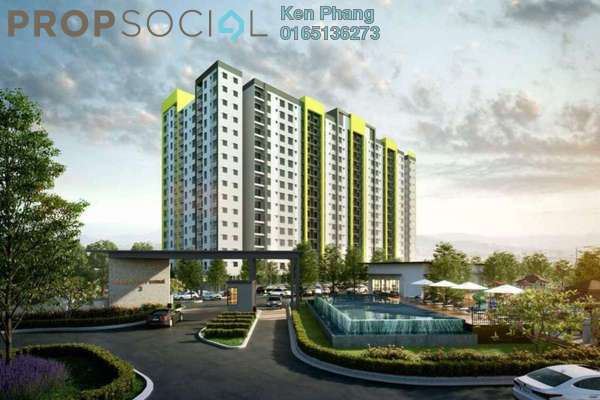 For Sale Condominium at Bandar Teknologi Kajang, Semenyih Freehold Unfurnished 3R/2B 280k