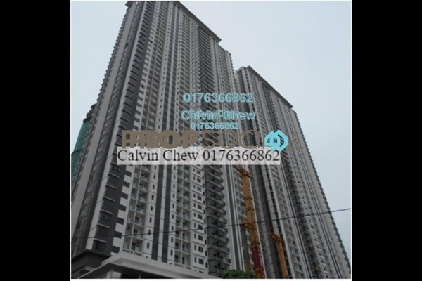For Sale Serviced Residence at South View, Bangsar South Freehold Unfurnished 3R/2B 650k