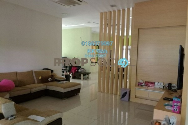 For Sale Superlink at Serdang Heights, Seri Kembangan Freehold Semi Furnished 5R/5B 1.3m