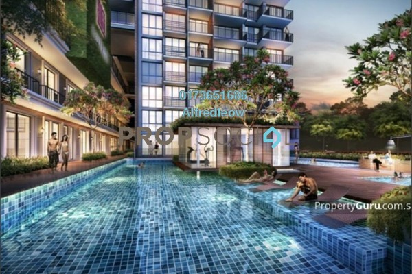 For Sale Condominium at Desa Tun Razak, Bandar Tun Razak Freehold Unfurnished 3R/2B 370k