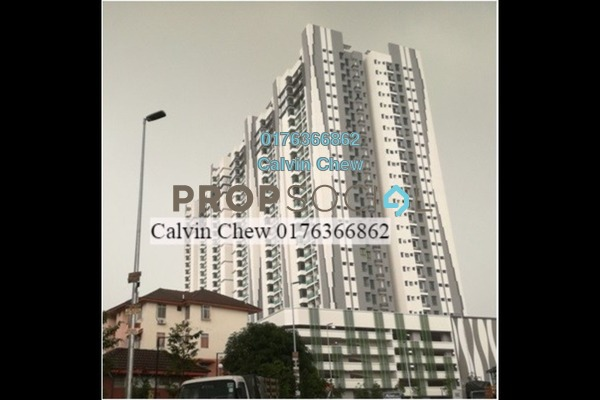 For Sale Condominium at Riverville Residences, Old Klang Road Freehold Unfurnished 3R/2B 711k