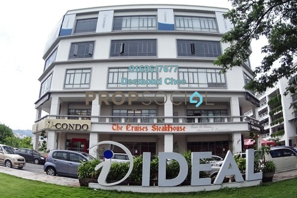 For Rent Office at The One, Bayan Baru Freehold Fully Furnished 0R/0B 2.58k