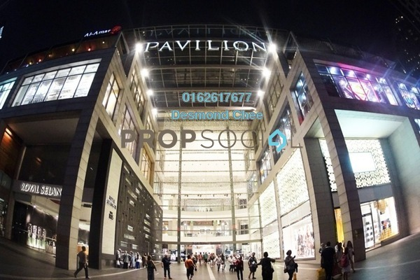 For Rent Office at Pavilion Tower, Bukit Bintang Freehold Fully Furnished 0R/0B 2.2k