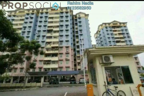 For Sale Apartment at Cheras Utama Apartment, Cheras South Freehold Semi Furnished 3R/2B 250k