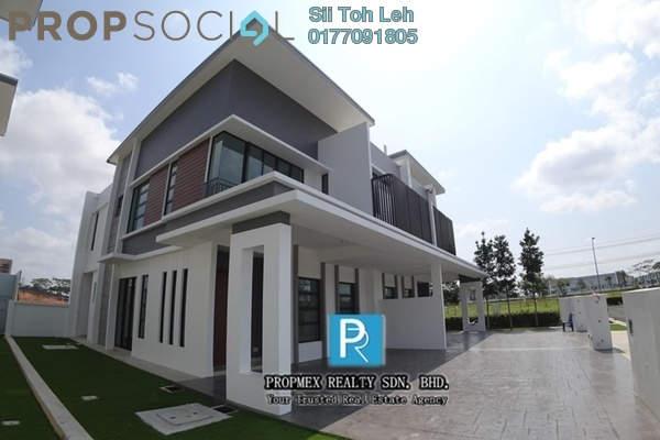 For Sale Semi-Detached at Elemence, Pasir Gudang Freehold Unfurnished 4R/3B 629k