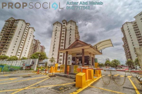 For Sale Condominium at Sentul Utama Condominium, Sentul Leasehold Fully Furnished 3R/2B 365k