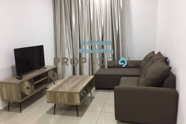 For Rent Serviced Residence at One Sentral, Iskandar Puteri (Nusajaya) Freehold Fully Furnished 3R/2B 1.7k
