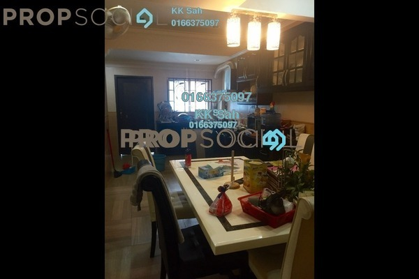 For Sale Terrace at Taman Sentosa, Klang Freehold Semi Furnished 3R/2B 328k