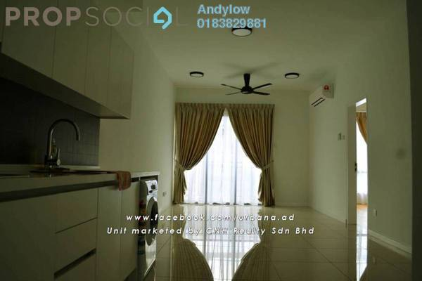 For Rent Condominium at Urbana Residences @ Ara Damansara, Ara Damansara Freehold Semi Furnished 2R/2B 1.8k