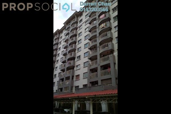 For Rent Apartment at Arena Green, Bukit Jalil Freehold Semi Furnished 2R/2B 1k