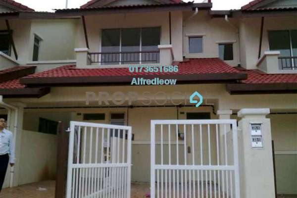 For Sale Townhouse at Bayu Parkville, Balakong Freehold Semi Furnished 3R/2B 350k