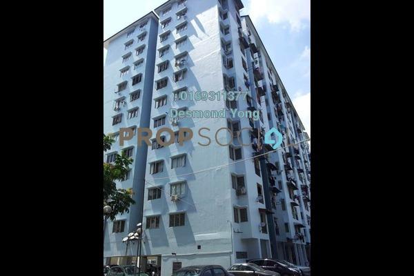 For Rent Condominium at Teratai Mewah Apartment, Setapak Freehold Semi Furnished 3R/2B 1.05k